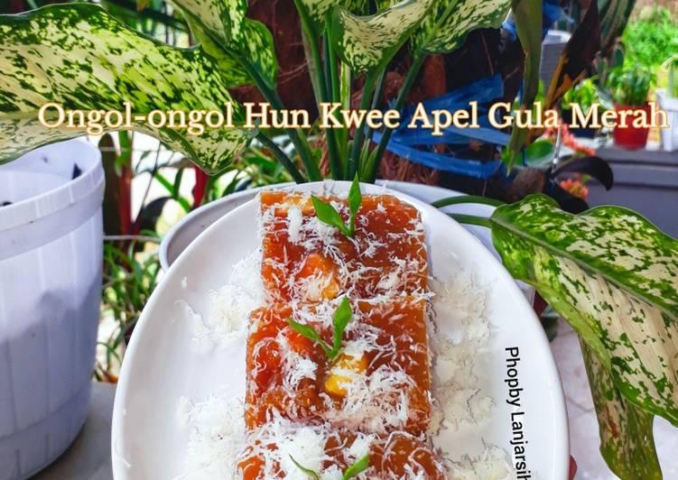 Ongol-ongol Hun Kwee Apel Gula Merah