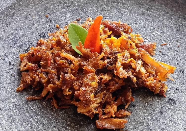 Tongkol Suwir Sambal Tomat - cookandrecipe.com