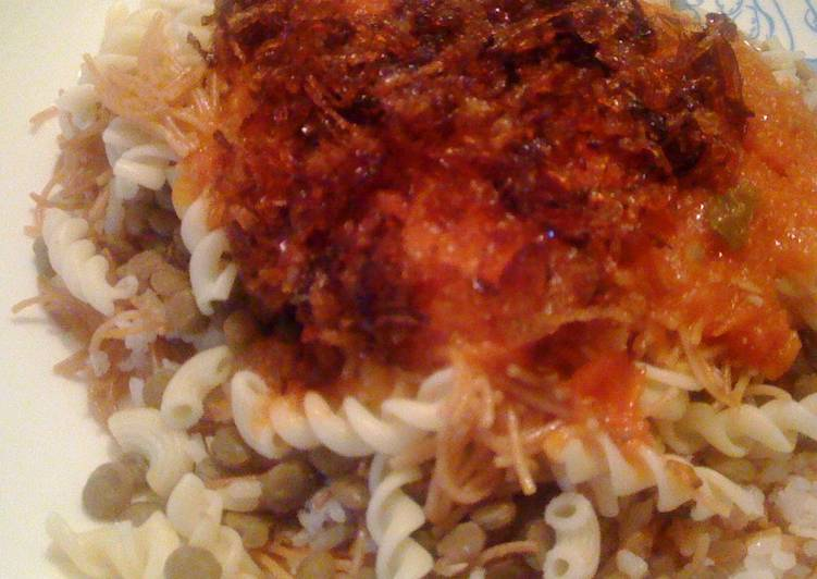The Egyptian Koshari