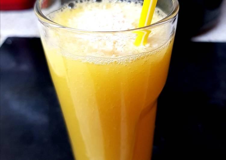 How to Prepare Ultimate My Mango & Coconut Fruit Juice 🤗
