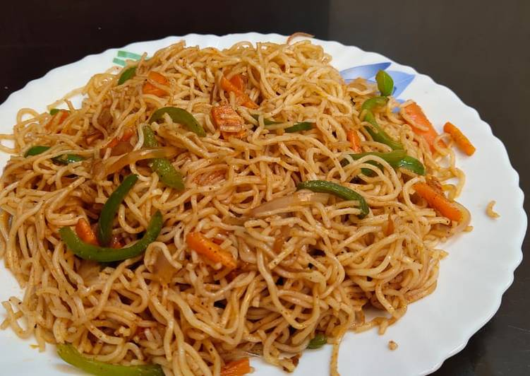 Simple Way to Prepare Perfect Special noodles (stir fried noodles)