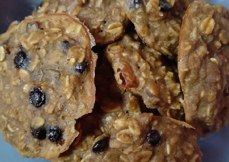 Matchalatos Oatmeal Cookies #CocomtangPost_WarnaHijau