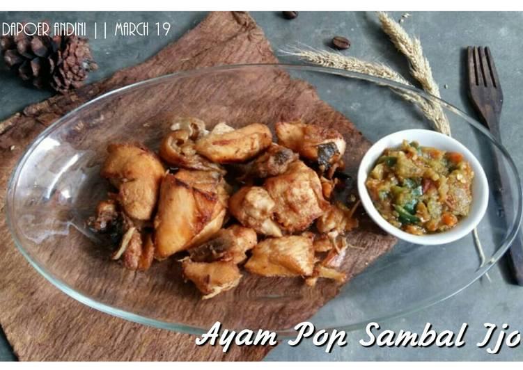 Ayam Pop Sambal Ijo