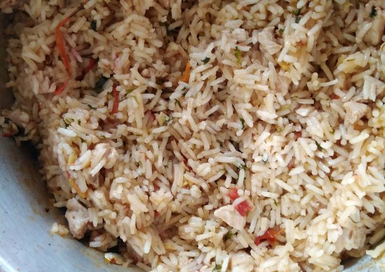 Pilau with a twist #themechallenge