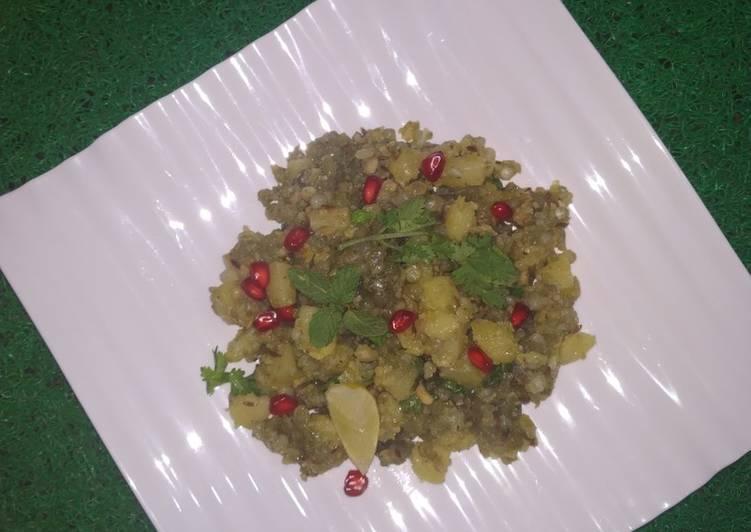 Recipe of Favorite Hariyali Sabudana Khichdi
