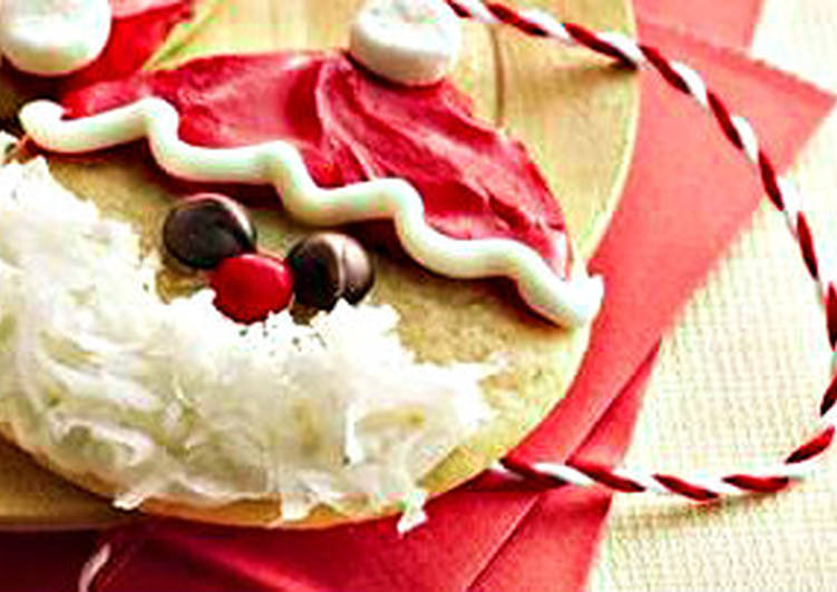 Grandmother's Dinner Easy Any Night Of The Week Cookie Santa