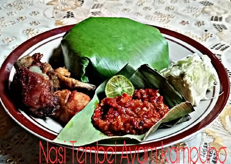 Nasi Timbe ayam kampung