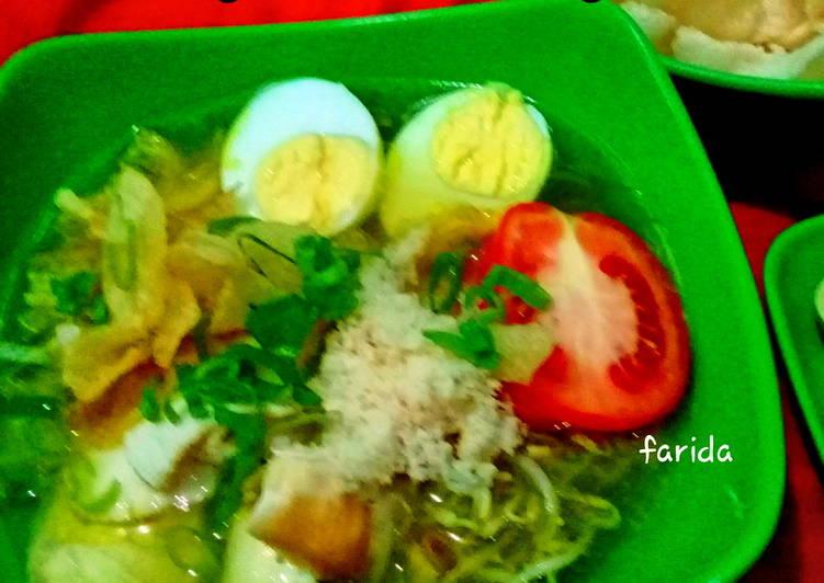 Resep Soto Ayam Surabaya Yang Mudah Bikin Ngiler