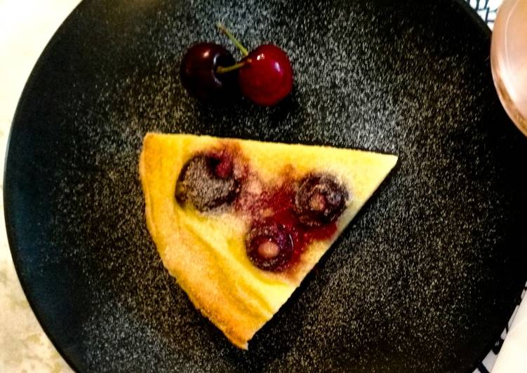 Step-by-Step Guide to Make Super Quick Homemade Fresh cherry clafoutis