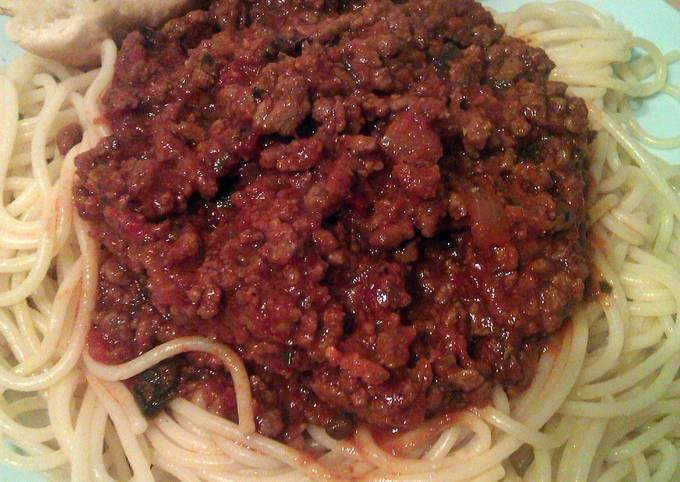 Vickys Spaghetti Bolognese, GF DF EF SF NF