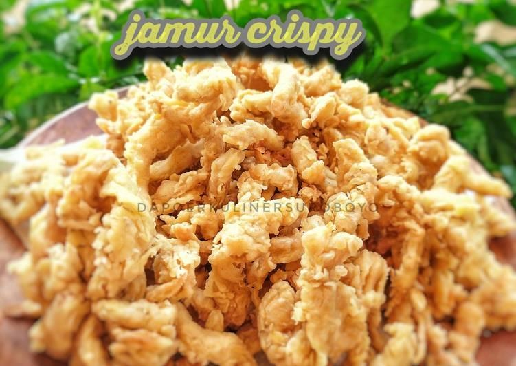 Jamur super crispy