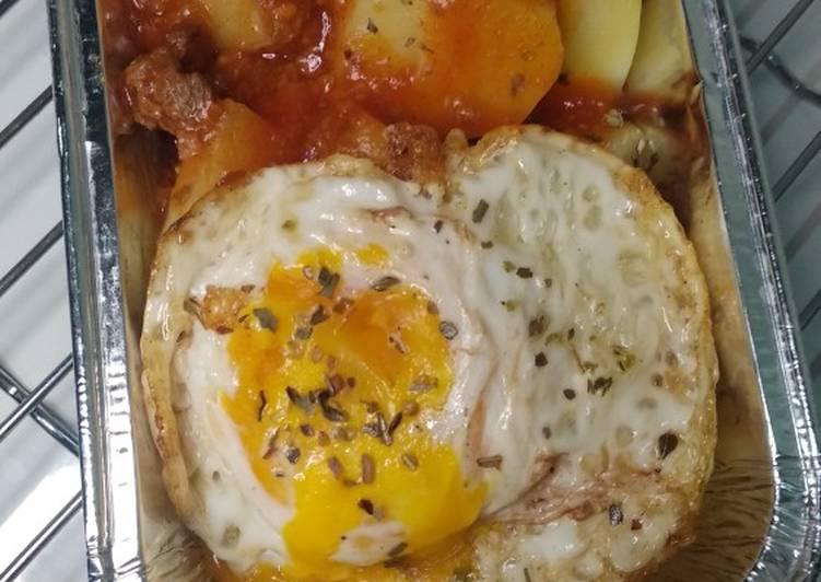 Kreasi Telur Ceplok Sarapan Sehat