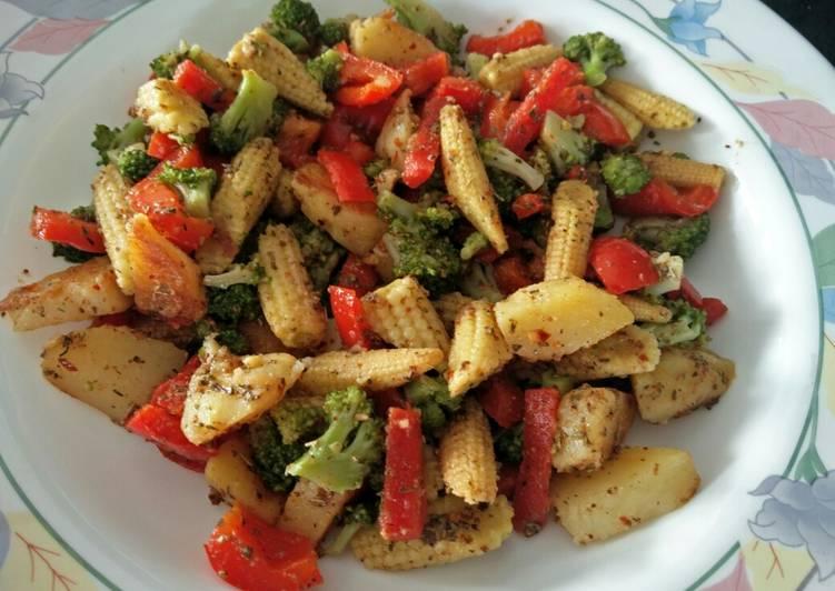 Stir Fry Exotic Vegetables