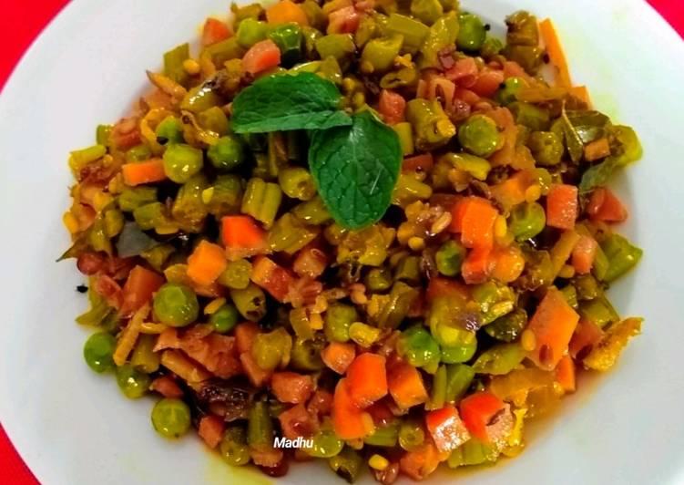 Mixed Dry Sabzi