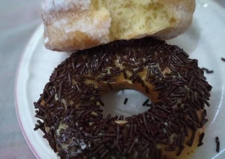 Donut empuk tanpa kentang tanpa terigu high pro
