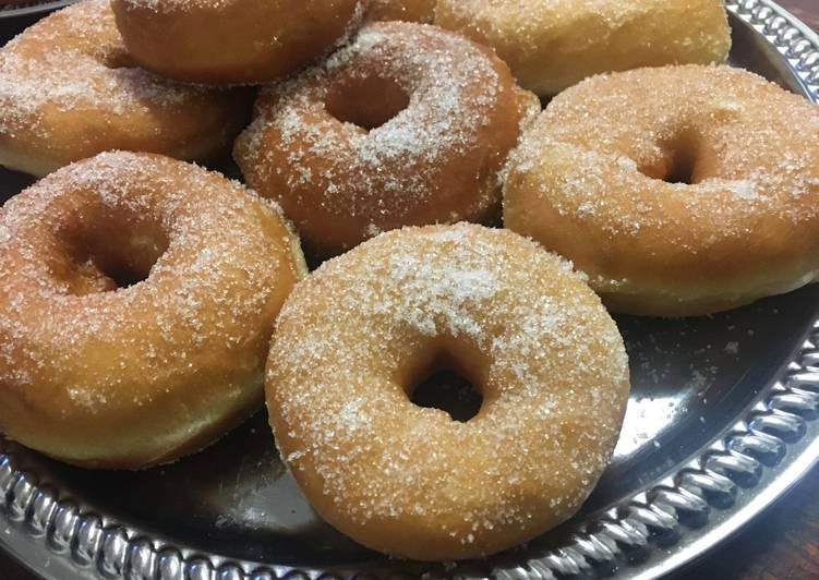 "Recipe of Award-winning ""Daddy"" Doughnuts"