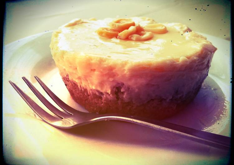 Sweet Corn Cheesecake Cupcake