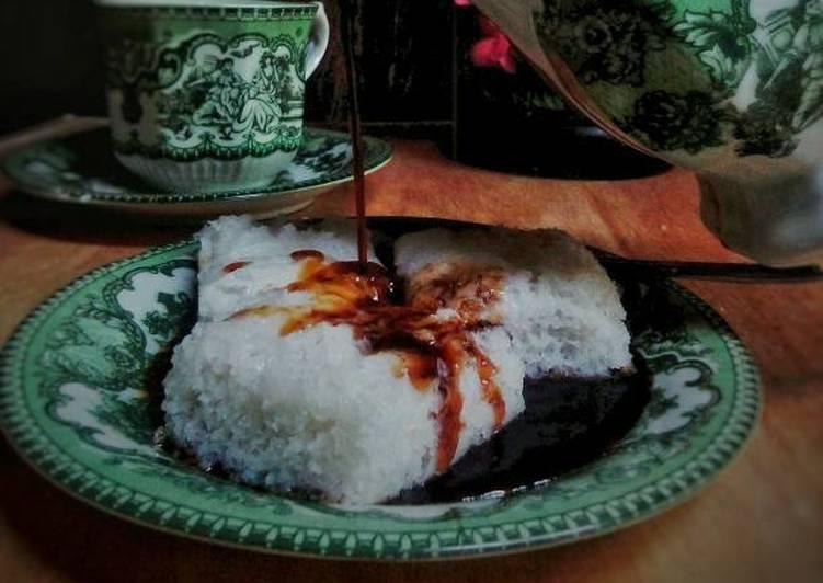 Apam Putih tape singkong siram gula merah - ganmen-kokoku.com