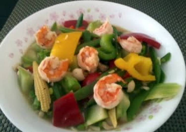 LG MIX VEGETABLE WITH PRAWN