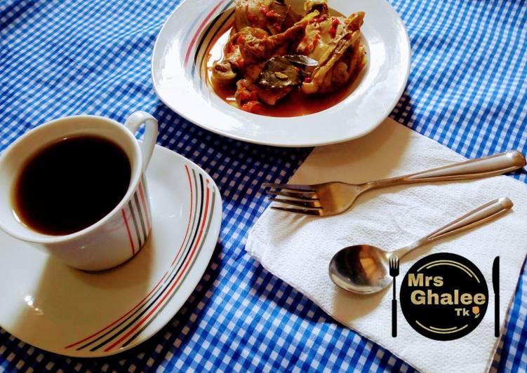 Recipe of Speedy Chicken pp soup with black tea