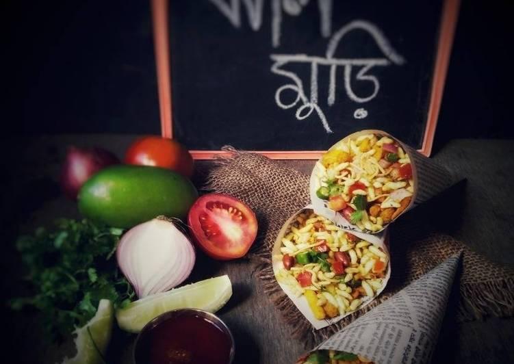 5 Minute Recipe of Royal Jhaal Muri (Masala Puffed Rice)
