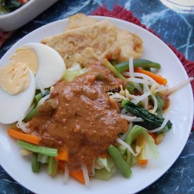 Resep Pecel Sayuran Bumbu Kacang Oleh Fitri Sasmaya Cookpad