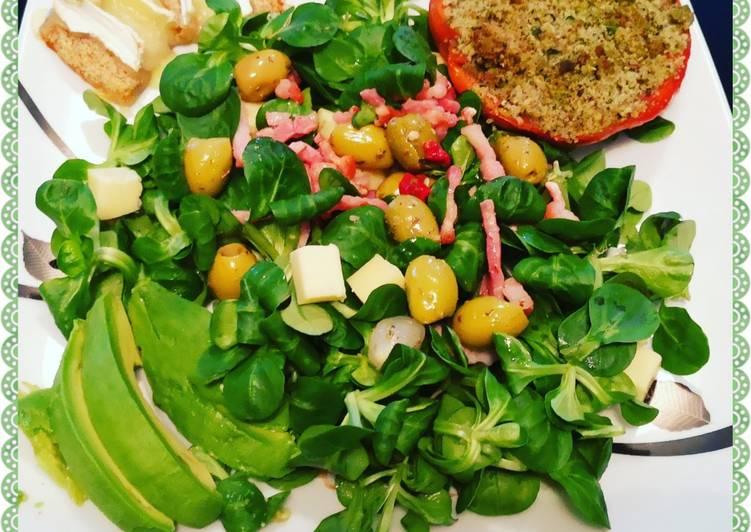 Salade gourmande 🥗