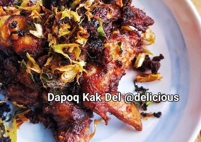 Ayam Goreng Berempah (Kai Tod Krueng-ted)