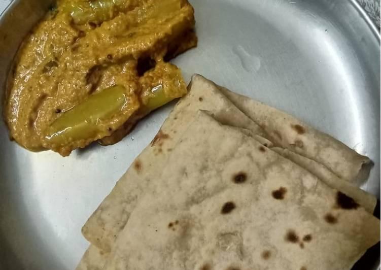 Recipe of Homemade Bhaji Chilli Curry