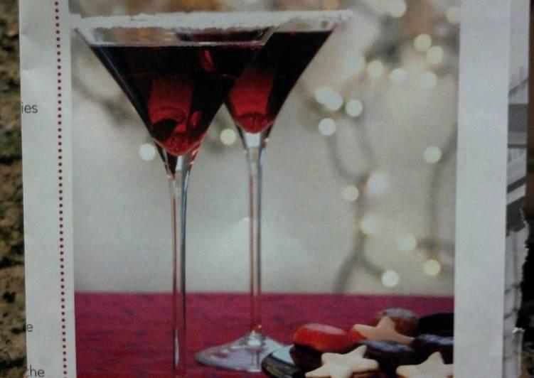 Cranberry-Pear Martini