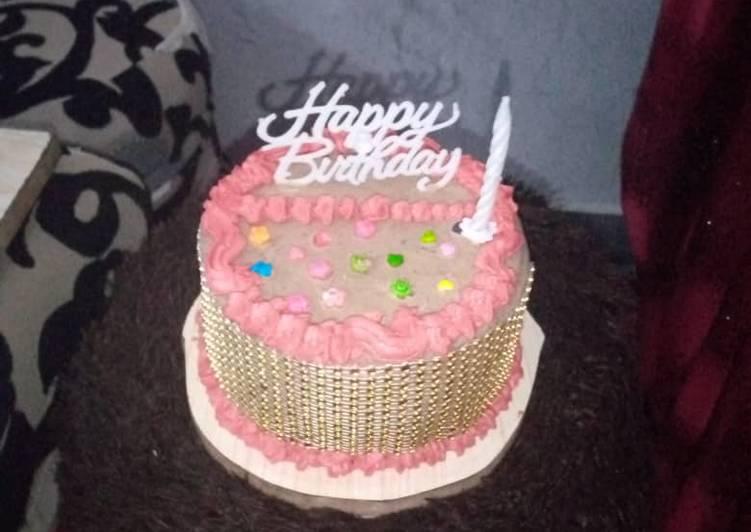 Recipe: Appetizing Birthday cake