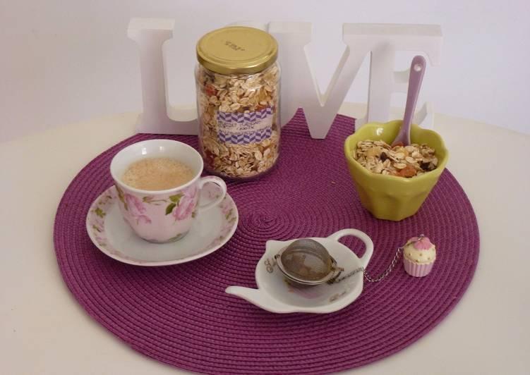 Muesli maison Avoine/fruits exotiques/Noix et Coco