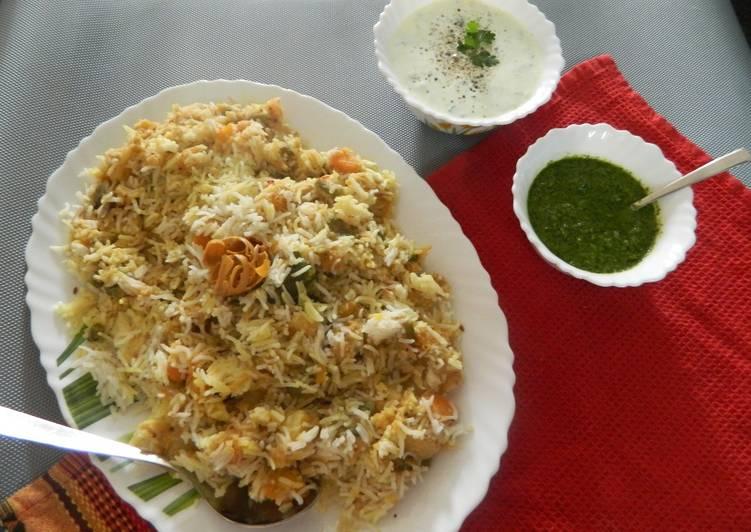 Easiest Way to Make Ultimate Pongal Kootu Veg Biryani