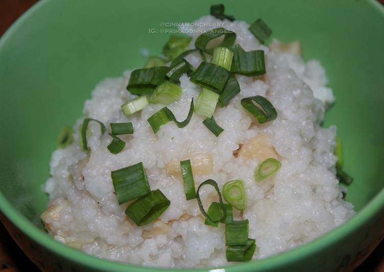 Recipe of Super Quick Homemade Scallop Porridge Made in Slow Cooker