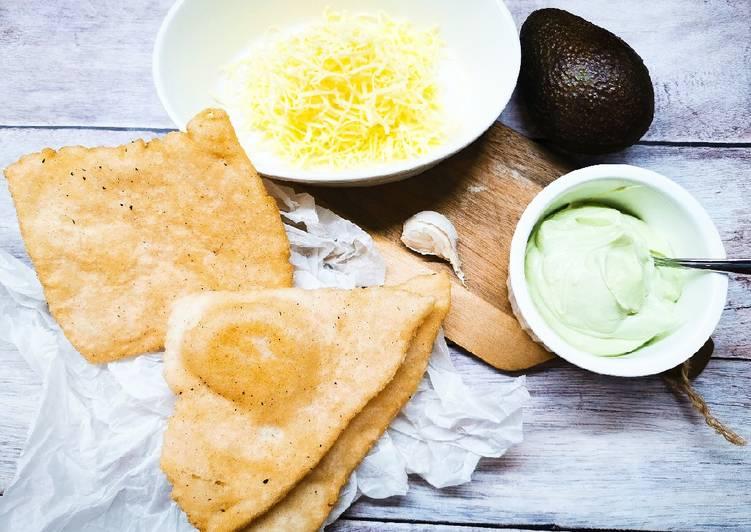 Lángos glutén, tej és tojásmentesen recept foto