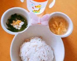 Mpasi 11m+ nasi hainam kuah caisim(sawi hijau baby)