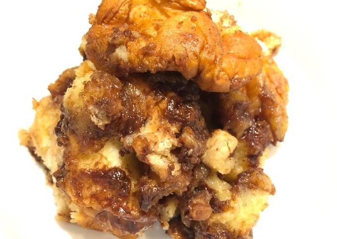 Crock Pot S'mores Bread Pudding