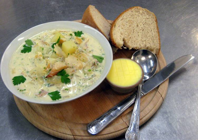 cullen skink (smoked haddock big soup), Choosing Fast Food That's Good For You