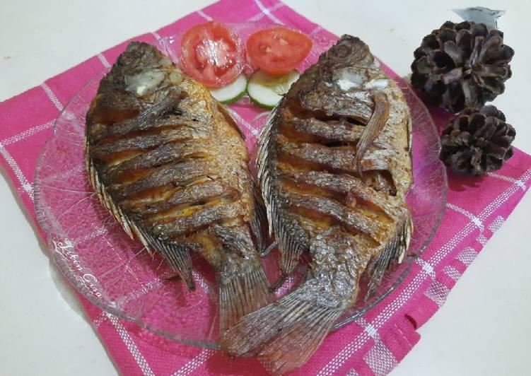 Ikan Mujaer Goreng Cryspy 🐟