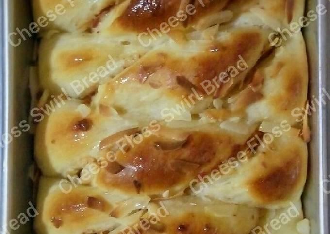 Cheese Floss Swirl Bread