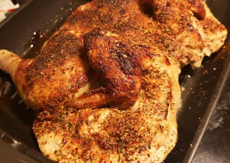 How to Cook Tasty Spanish spices Grilled chicken