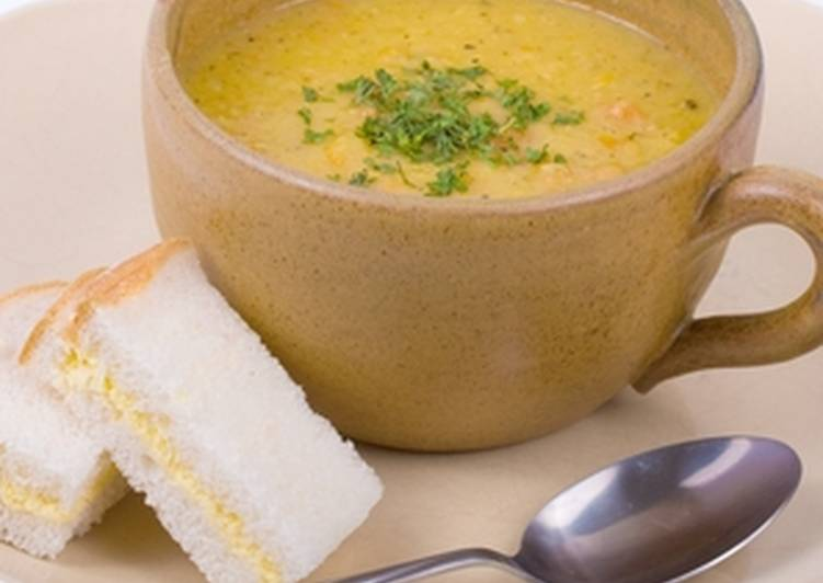 Soft and Creamy Yellow Lentil Soup Choosing Fast Food That's Good For You