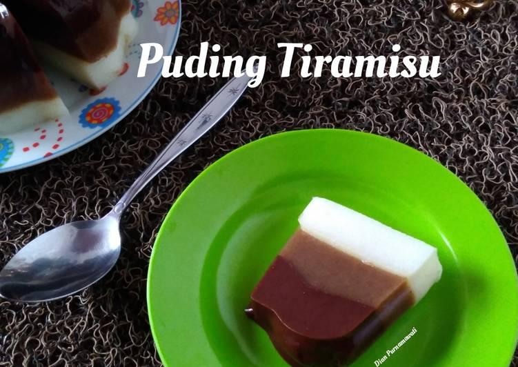 Puding Tiramisu