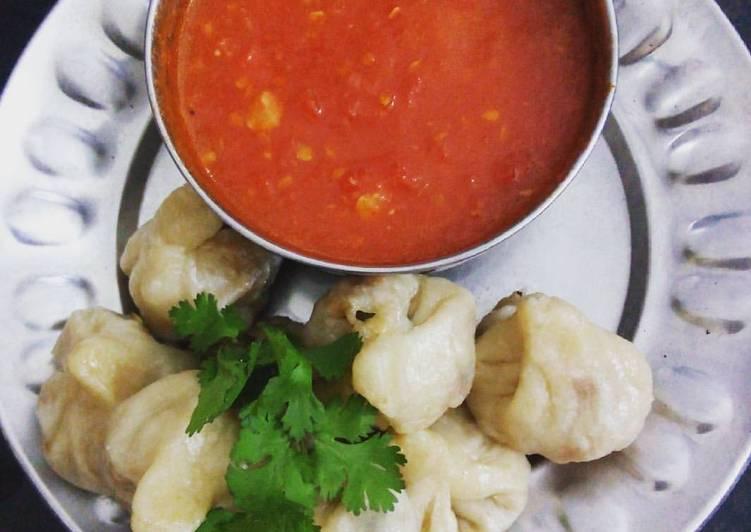 Mix veg and paneer momos