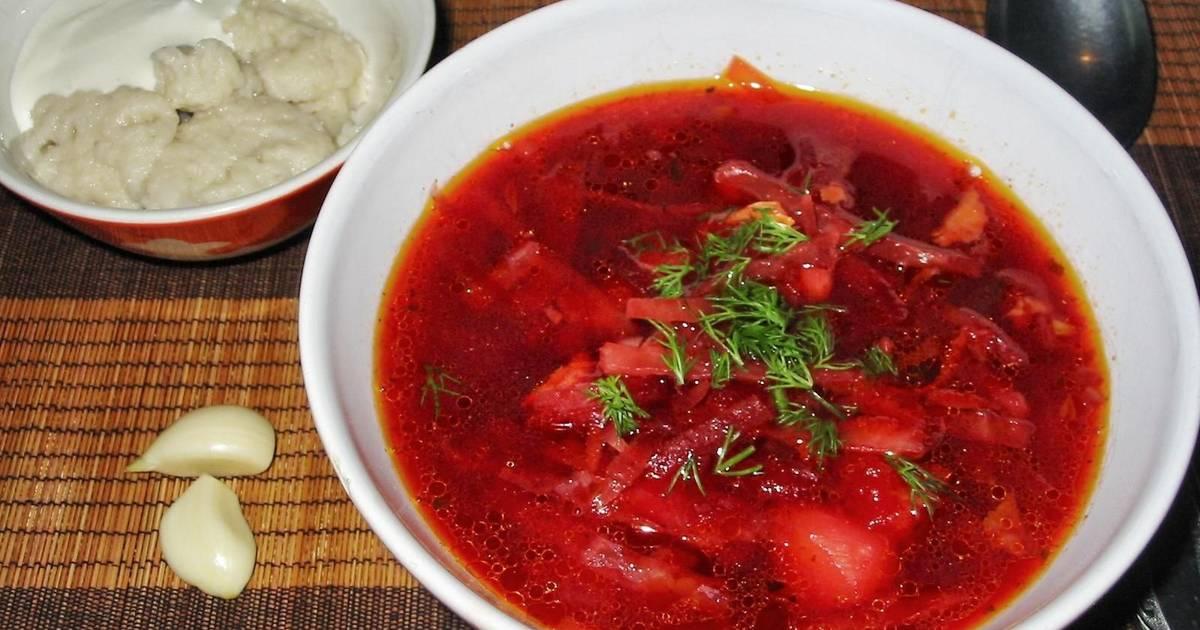 Борщ украинский рецепт классический с фото