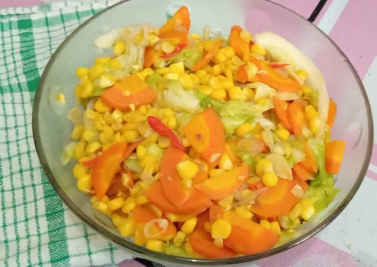 Capjay sayur sehat