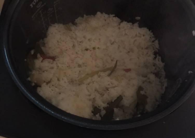Nasi Liwet Ricecooker