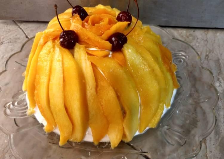 Mango Tres Leches Cake🎂