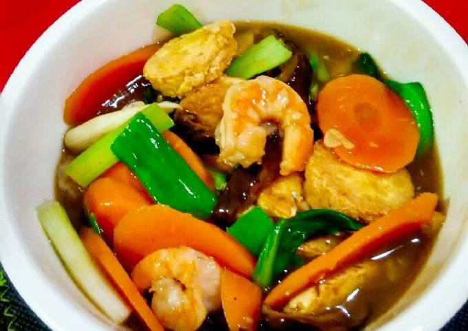 Resep Sapo Tahu Ala Chinese Food Oleh Maria Crishtabella Cookpad