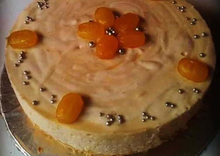 Mango mousse cake 🍋🎂